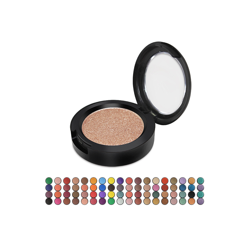 Makeup Glitter single pigment eyeshadow private label OEM ODM Wholesale