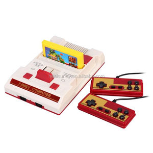 Video Game Player Console TV games card games after 80 8-bit classic nostalgic console