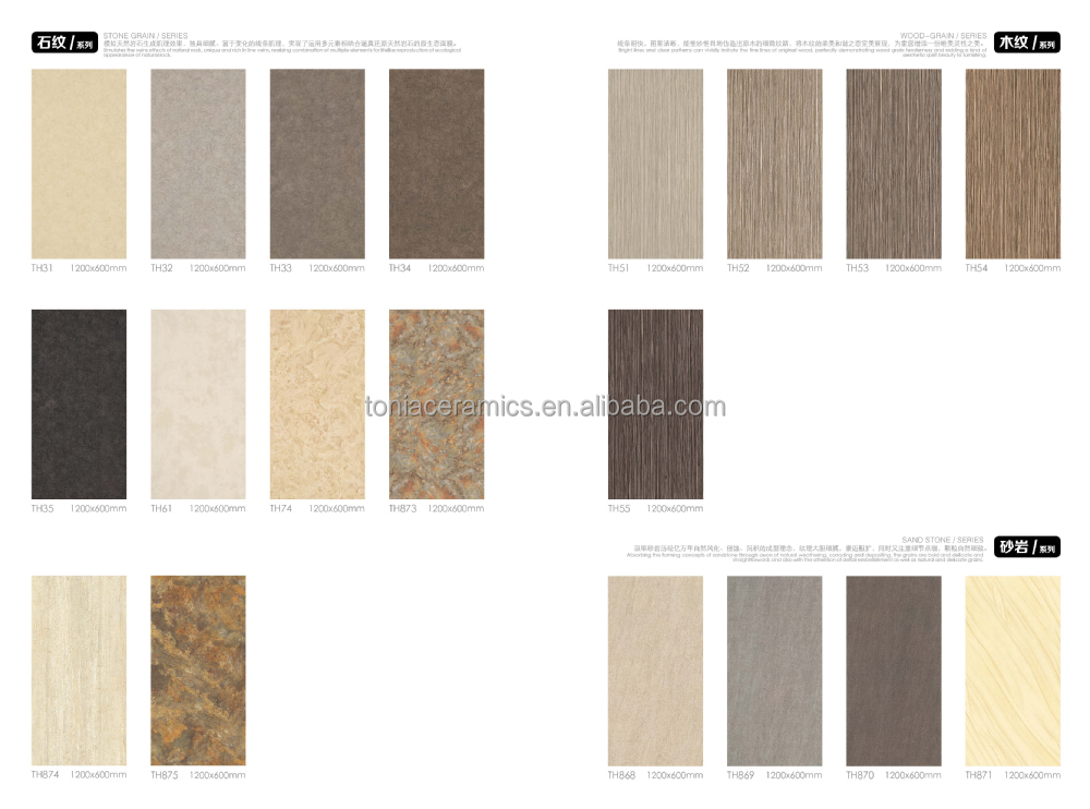New inkjet slim tiles porcelain thin tiles marble for Carrelage slim tile