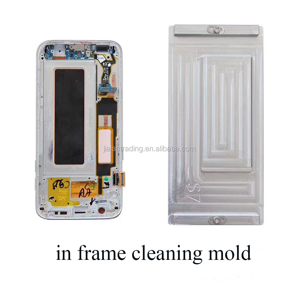 2018 new type <strong>mold</strong> in frame cleaning glue <strong>mold</strong> heating cleaning glue <strong>mold</strong> for samsung S7 S8 S8 plus NOTE 8