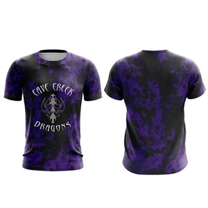 Fully Sublimation slim fit T-shirt custom made