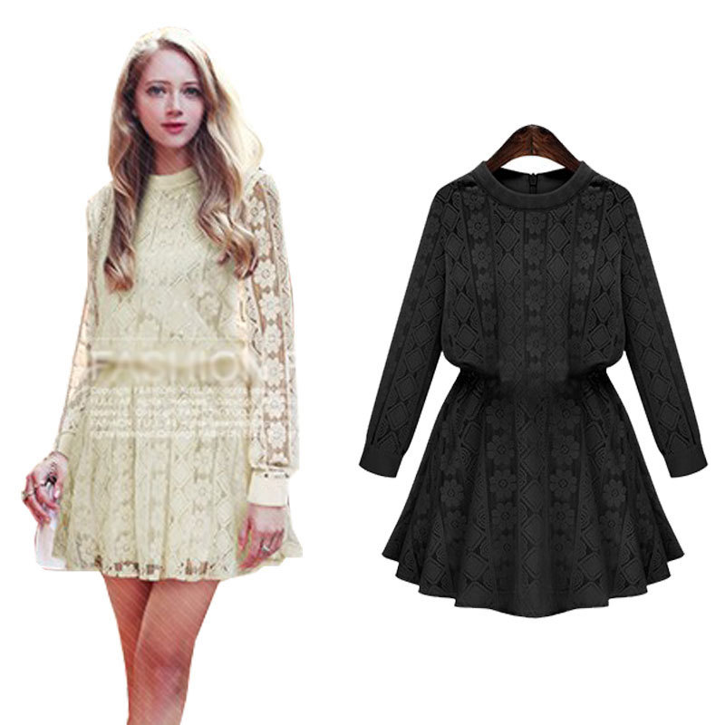 Cheap Crochet Dress Long Sleeve Find Crochet Dress Long Sleeve