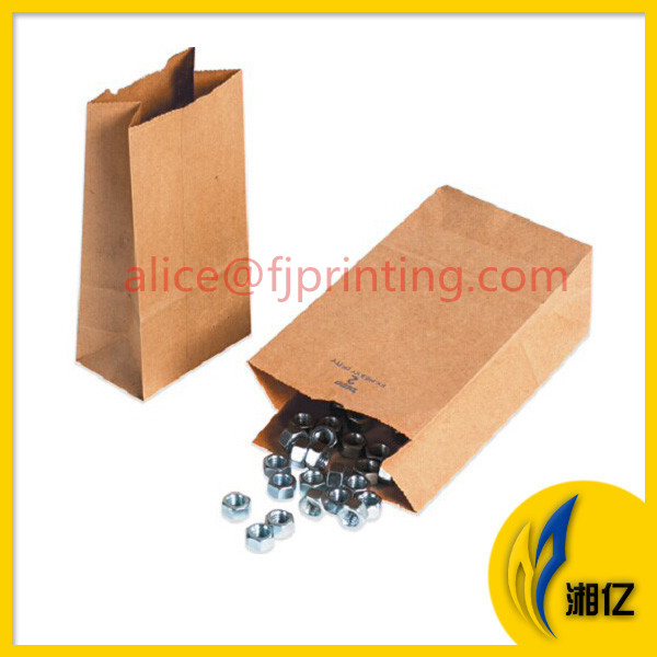 Top-Quality Heavy-Duty Natural Kraft Paper Hardware Bags