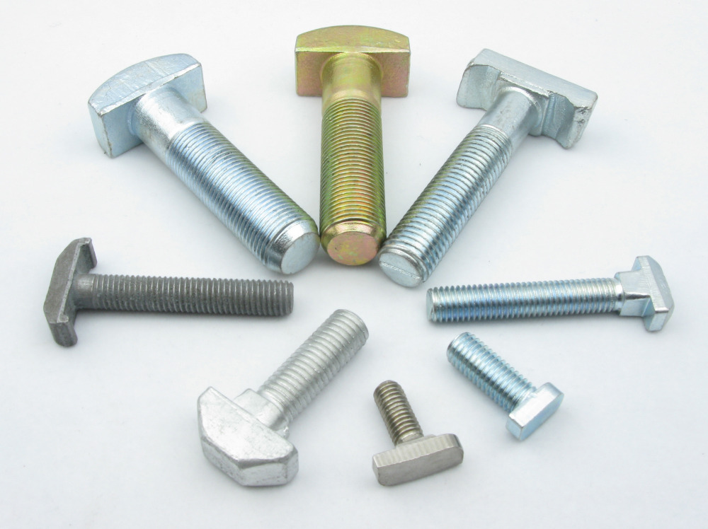 Well-made and good price m10 stainless steel DIN186 t bolt