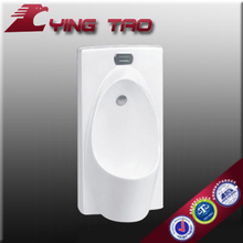 Bathroom new special design stand hung collection auto flush water male urine urinal price