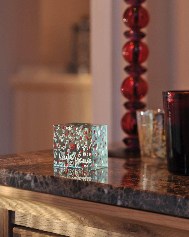 Spaceform Handmade Luxury Paperweight Romantic Love Gift Ideas Her & Him