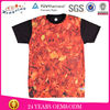plain t shirts for printing/full print t shirt/t shirts for sublimation printing