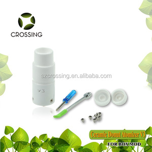 High quality Crossing v2 rebuildable ceramic wax vaporizer very hot selling  Dry Herb wax pen