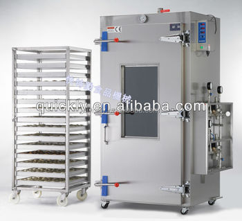 KS-70 Twin Trolleys Temperature Control Bolier Type industrial steamer