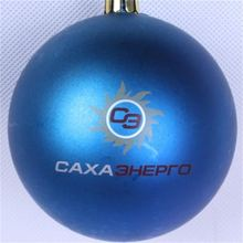 Personalized waterproof customized logo hand painted Christmas  ball ornaments