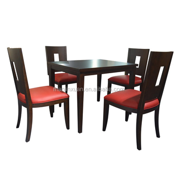 Restaurant Tables Chairs 4 Person Dining Table And Chair