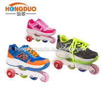 Attachable wheels for shoes,young boy sport shoes