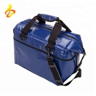 Waterproof Vinyl 500D PVC Travel Rolling Soft Side Collapsible Rugged 20 QT Cooler Bag
