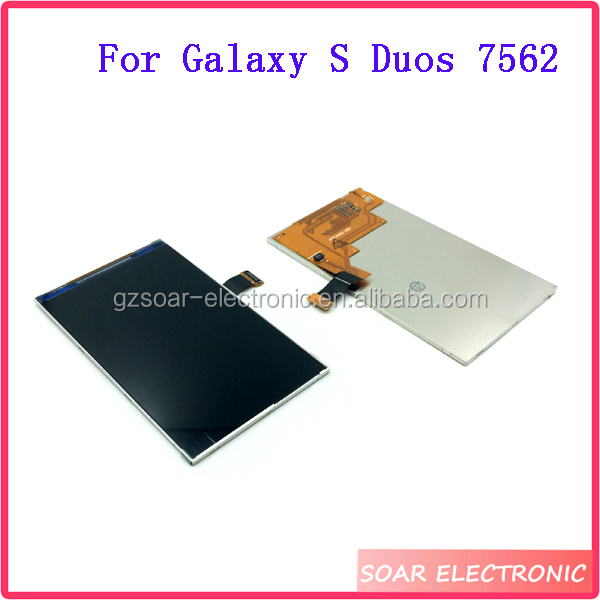 Spare parts LCD Display Replacement For Samsung Galaxy S Duos 7562