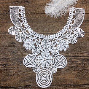 OLN14191 crochet embroidery collar lace