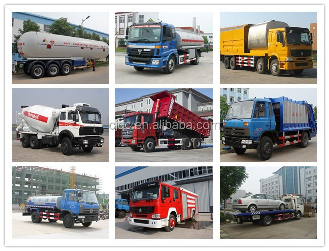 2015 4*2 pointed dongfeng 140 chemical liquid tanker truck for sale