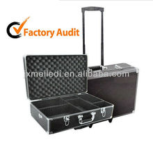 briefcase with compartments trolley aluminum toolbox MLD-AC194