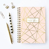 2017 Pop Japanese Marble Cover Customized Loose-Leaf Wire-O Bound Refillable Notebook