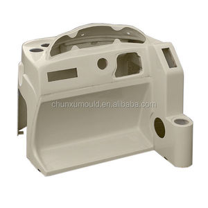 Boat steering console mould