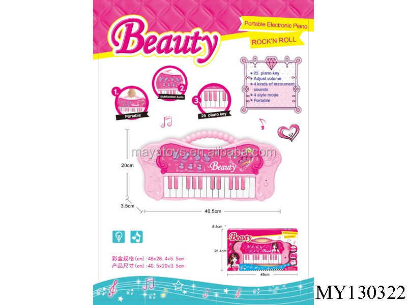 Electronic Music Instrument Toy fashion Portable piano Keyboard for girl set