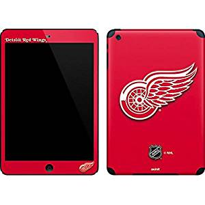 NHL Detroit Red Wings iPad Mini (1st & 2nd Gen) Skin - Detroit Red Wings Solid Background Vinyl Decal Skin For Your iPad Mini (1st & 2nd Gen)