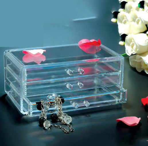 2016 new product acrylic makeup organizer Clear acrylic cosmetic organizer