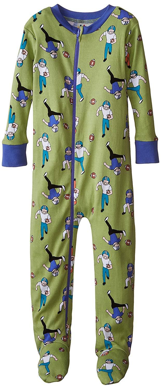 Get Quotations · New Jammies Little Boys  Organic Cotton Footie Pajamas 8101eda2f