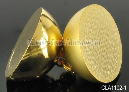 Stock 14mm 24K gold magnetic jewelry clasp