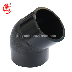 HDPE Pipe Butt Fusion 90 degree Elbow/pe pipe fitting