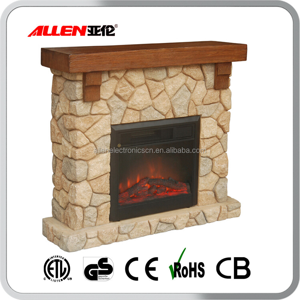 indoor brick wall tv stand wood and polystone mantel electric