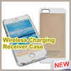 Hot sale Mobile phone Use qi Wireless charger receiver case for iPhone 5 For iphone 5s Wireless charging case