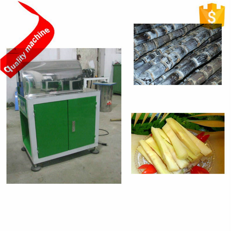 Sugar cane cleaning peeling processing sugarcane cutting machine price