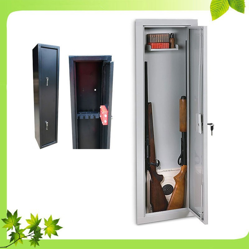 gun cabinets with separate lockable ammunition/5 electronic digital gun cabinet