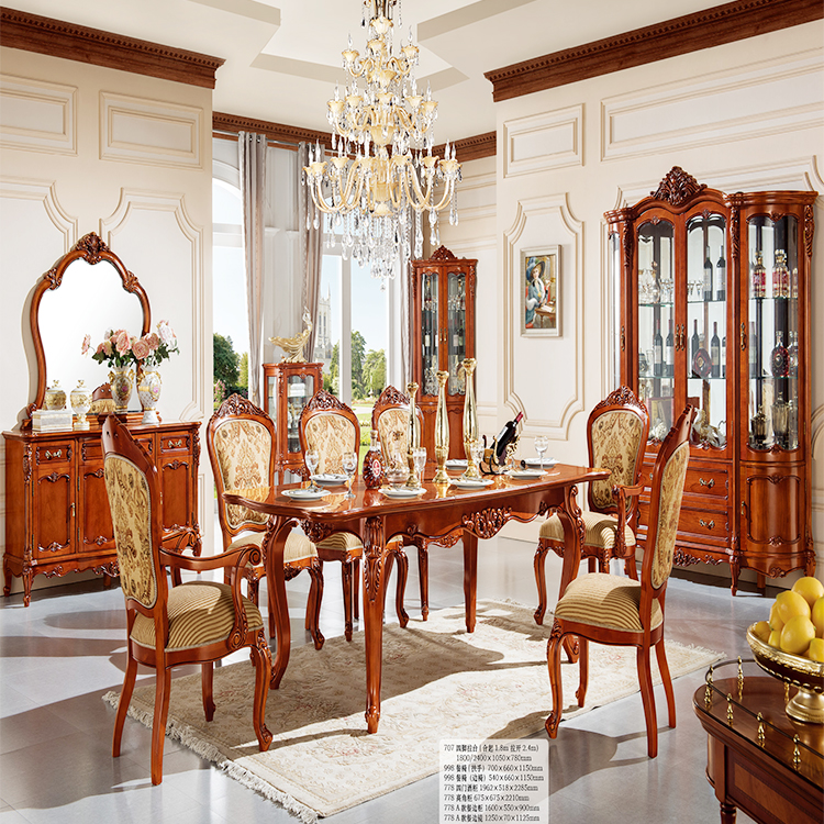 778 1 Neo Klasik Dining Room Set Perabotan Elegan Gaya Eropa Tangan Carved Mewah Dining Room Set Buy Ruang Makan Set Mewah Ruang Makan Set Tangan