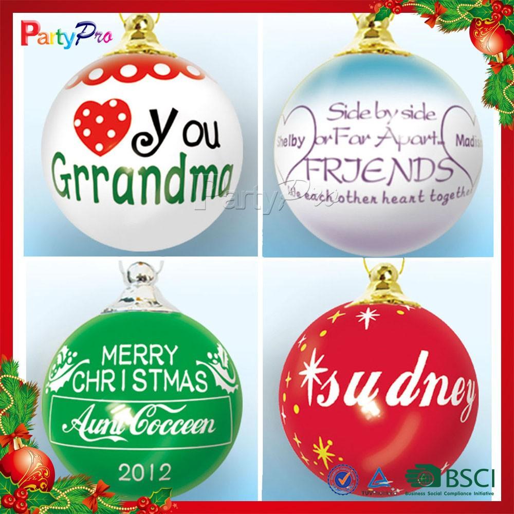 Custom christmas ball ornaments - Christmas Ball Christmas Ball Suppliers And Manufacturers At Alibaba Com
