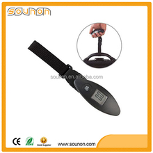 mechanical luggage scale battery required rated Load 50 kg accuracy 100g stainless luggage scale