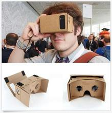 New Design High quality DIY Google Cardboard Virtual Reality VR Mobile Phone 3D Viewing Glasses