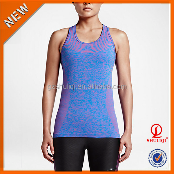 custom tank top women gym sports running yoga jogging wear dri fit