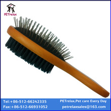 (L) W23891 hot selling double sided pet brush for hair grooming