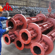 low price reinforced concrete electric poles pipe making mould