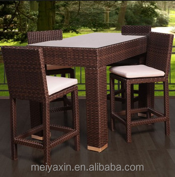 Sigma Cheap Outdoor Dining Furniture Restaurant Sofa Table Set