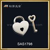 Customs Gold Plated Zinc Alloy Notebook Lock hardware, Fantacy And High Quality Notebook Locks Metal