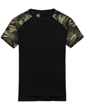T027 Man Casual Camouflage T-shirt Men 100% Cotton Army Tactical Combat T  Shirt 5ae30f0f3d4c