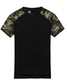 T027 Man Casual Camouflage T-shirt Men 100% Cotton Army Tactical Combat T Shirt Military Sport Camo Camp Mens T Shirts