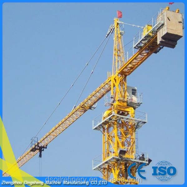 8t building tower crane spare parts for sale