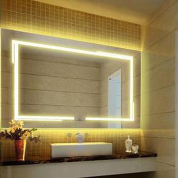Ultrathin Bathroom Mirror With Led Light - Buy Bathroom Mirror With ...