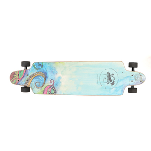 4 wheels complete skateboard Dancing Free Ride Longboard good quality and new design