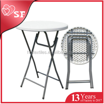 Hot Sale Blow Molding Used Outdoor High Top Folding Bar Tables Buy Folding Bar Table Product On Alibaba Com