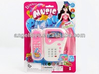 2014 new plastic musical toy phone for kids