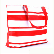 China manufactory NEW Large Zipped foldable outdoor waterproof promotion Beach Bag in handbags
